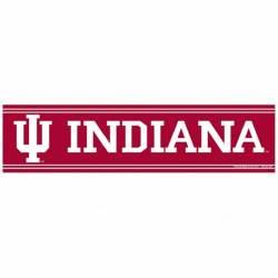 Indiana Hoosiers 12 IU Car Magnet