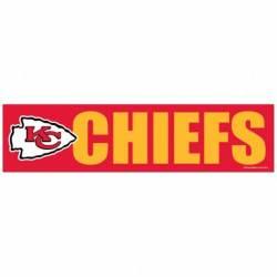 257b87bc Kansas City Chiefs Stickers, Decals & Bumper Stickers