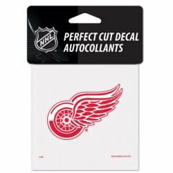 Detroit Red Wings - 4x4 Die Cut Decal e3ca455820