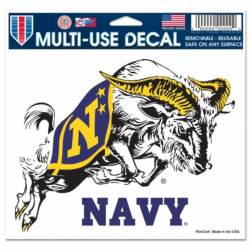 205b75fff99 US Naval Academy Navy Midshipmen - 5x6 Ultra Decal