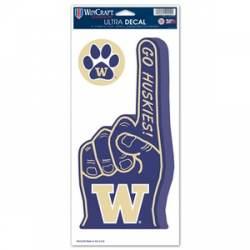 NCAA University of Washington Huskies 2-pack Die Cut Magnet Set