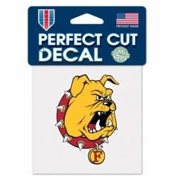 Ferris State University Bulldogs Premium Collegiate Car Decal