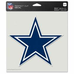 c0e4f5fe Dallas Cowboys Logo - 8x8 Full Color Die Cut Decal