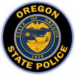 Oregon State Police Stickers Decals Amp Bumper Stickers