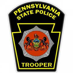 Pennsylvania State Police Stickers Decals Amp Bumper Stickers
