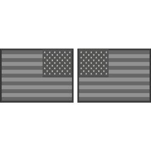 a1f99ad2a8c0 Subdued Standard   Reverse American Flag - Helmet Decal Set Item  827-2184