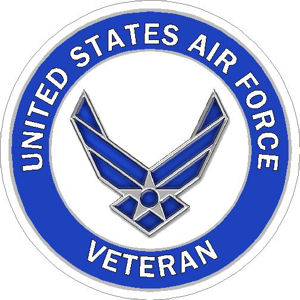 US Air Force Veteran - Sticker