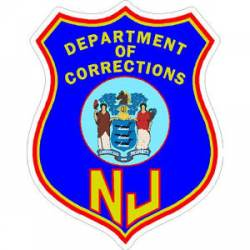 New Jersey Public Safety Stickers, Decals & Bumper Stickers