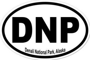 Denali Park Alaska - Sticker