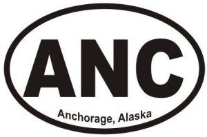 Anchorage Alaska - Sticker