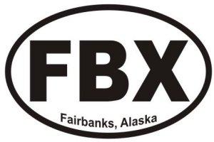 Fairbanks Alaska - Sticker