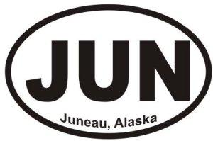 Juneau Alaska - Sticker