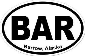 Barrow Alaska - Sticker