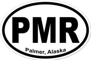 Palmer Alaska - Sticker