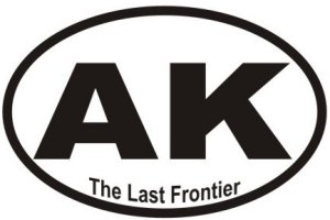 Last Frontier Alaska - Sticker