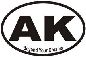 Beyond Your Dreams Alaska - Sticker