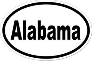 Alabama - Sticker