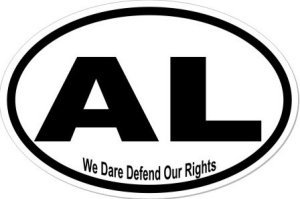 Defend our Rights Alabama - Sticker