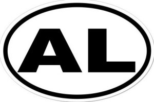 AL Alabama - Sticker