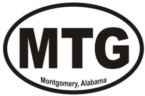 Montgomery Alabama - Sticker
