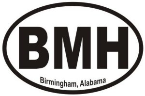 Birmingham Alabama - Sticker