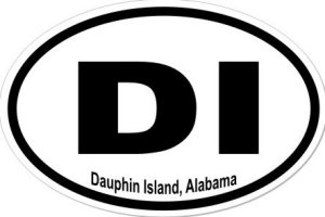 Dauphin Island Alabama - Sticker