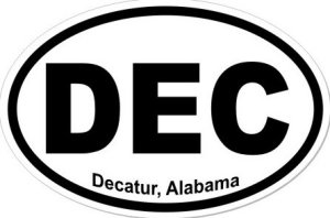 Decatur Alabama - Sticker
