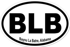 Bayou La Batre Alabama - Sticker