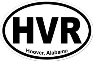 Hoover Alabama - Sticker