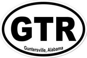 Guntersville Alabama - Sticker