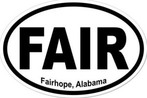 Fairhope Alabama - Sticker