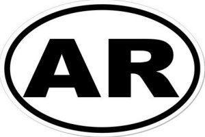 AR Arkansas - Sticker