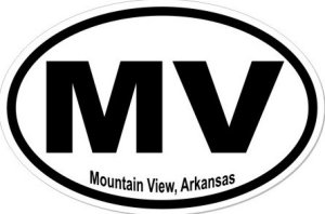 Mountain View Arkansas - Sticker