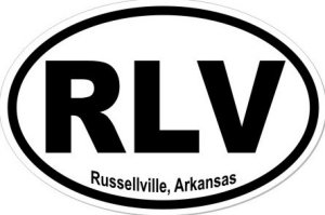 Russellville Arkansas - Sticker