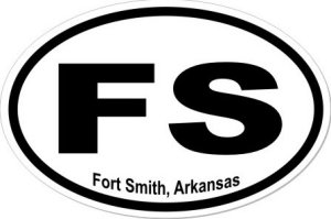 Fort Smith Arkansas - Sticker