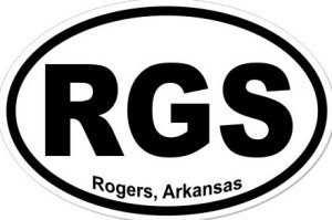 Rogers Arkansas - Sticker