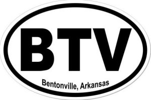 Bentonville Arkansas - Sticker