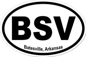 Batesville Arkansas - Sticker