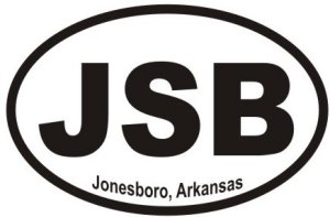 Jonesboro Arkansas - Sticker