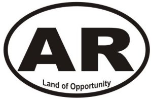 Land of Opportunity Arkansas - Sticker