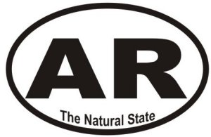 Natural State Arkansas - Sticker