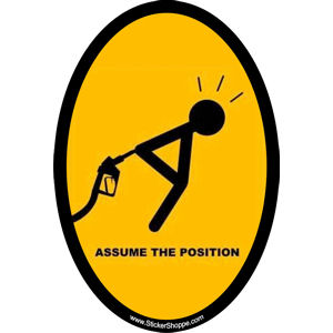 Assume The Position - Sticker