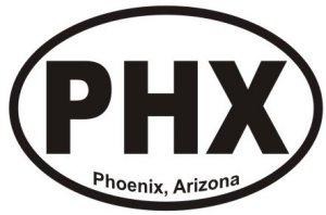 Phoenix Arizona - Sticker