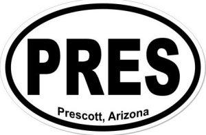 Prescott Arizona - Sticker