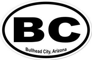 Bullhead City Arizona - Sticker