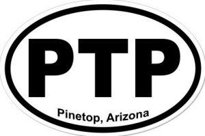 Pinetop Arizona - Sticker