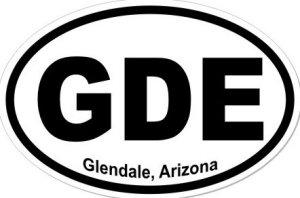 Glendale Arizona - Sticker