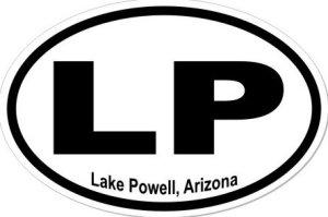 Lake Powell Arizona - Sticker
