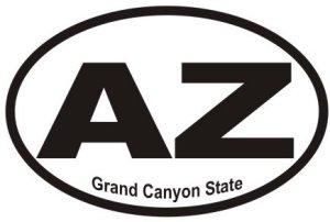 Grand Canyon State Arizona - Sticker