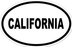 CALIFORNIA - Sticker